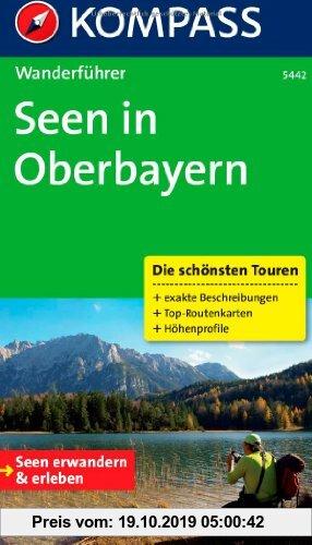 Gebr. - Seen in Oberbayern: Wanderführer mit Tourenkarten und Höhenprofilen
