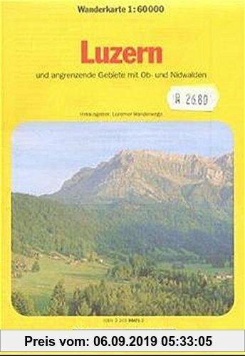 Gebr. - Kümmerly & Frey Karten, Luzern und angrenzende Gebiete mit Ob- und Nidwalden (Kümmerly+Frey Wanderkarten)