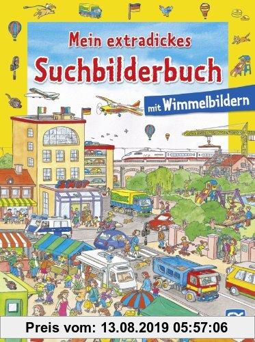 Gebr. - Mein extradickes Suchbilderbuch: Mit Wimmelbildern