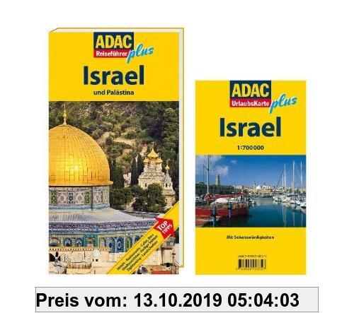 Gebr. - ADAC Reiseführer plus Israel und Palästina: Mit extra Karte zum Herausnehmen