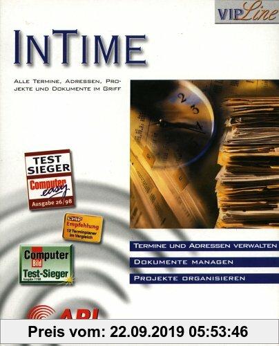 Gebr. - In Time. CD- ROM für Windows 3.x/95/98. Alle Termine, Adressen, Projekte und Dokumente im Griff