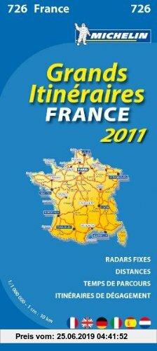 Gebr. - MICHELIN Nationalkarte Frankreich Fernrouten