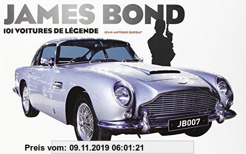 Gebr. - James Bond : 101 voitures de légende