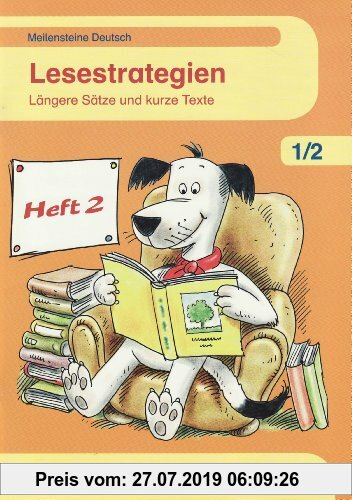 Gebr. - Meilensteine Deutsch. 1. /2. Lesestrategien Heft 2