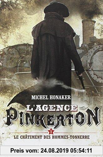 Gebr. - L'agence Pinkerton, Tome 1 : Le châtiment des hommes-tonnerres