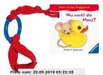 Gebr. - Mein erstes Buggybuch: Was macht die Maus?: Ab 6 Monate