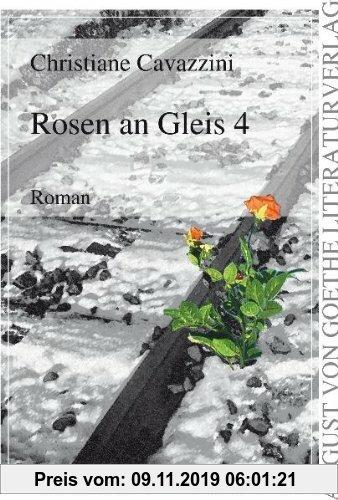 Gebr. - Rosen an Gleis 4
