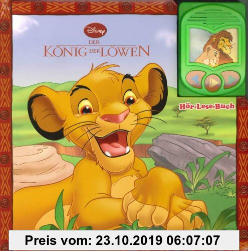 Gebr. - König der Löwen, Hör-Lese-Buch
