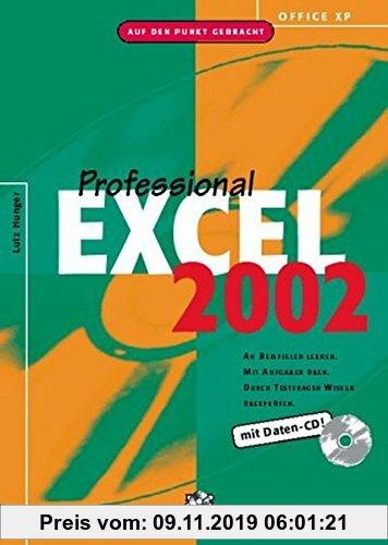Gebr. - Office XP: Excel 2002 Professional: An Beispielen lernen. Mit Aufgaben üben. Durch Testfragen Wissen überprüfen