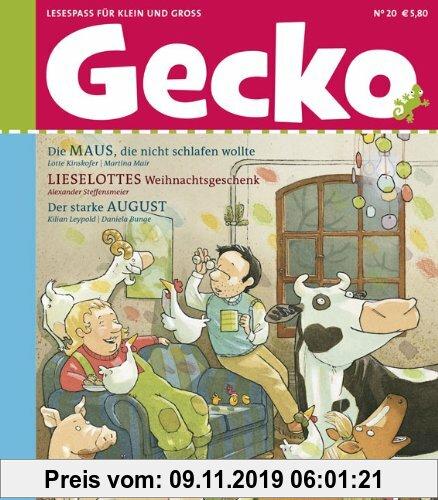 Gebr. - Gecko Kinderzeitschrift - Lesespaß für Klein und Groß: Gecko 20: BD 20