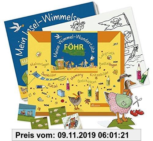 Gebr. - Meine Wimmel-Wundertüte Föhr: Großes Beschäftigungsheft + Basteln + Memory (Wimmel-Wundertüten)