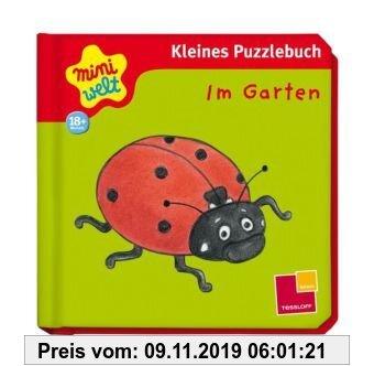 Gebr. - Miniwelt: Erstes Puzzlebuch. Im Garten