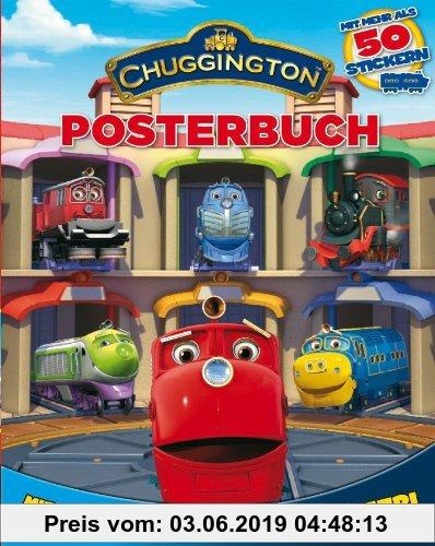 Gebr. - Chuggington: Posterbuch: Mit mehr als 50 Stickern und ausklappbaren Riesenposter!