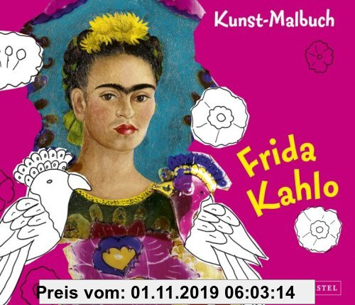 Gebr. - Kunst-Malbuch Frida Kahlo
