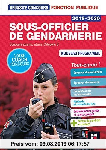 Gebr. - Sous-officier de gendarmerie : Concours externe, interne, Catégorie B