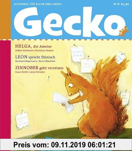 Gebr. - Gecko Kinderzeitschrift Band 18: Lesespaß für Groß und Klein
