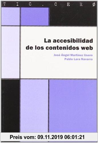 Gebr. - La accesibilidad de los contenidos web (TIC.CERO, Band 3)