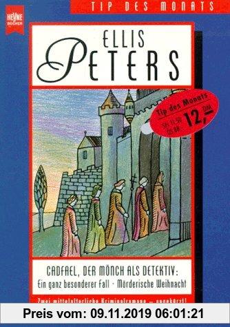 Gebr. - Cadfael, der Mönch als Detektiv. Ein ganz besonderer Fall / Mörderische Weihnacht. Zwei mittelalterliche Kriminalromane.