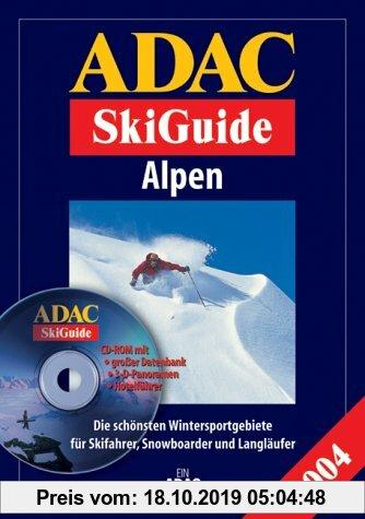 Gebr. - ADAC SkiGuide Alpen, m. CD-ROM
