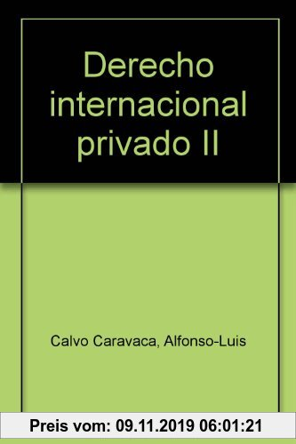 Gebr. - Derecho internacional privado II