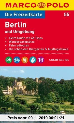 Gebr. - MARCO POLO Freizeitkarte Berlin und Umgebung 1:100.000