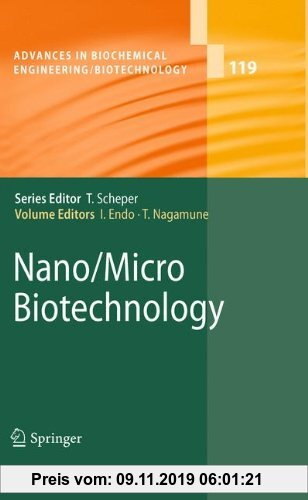 Gebr. - Nano/Micro Biotechnology (Advances in Biochemical Engineering/Biotechnology)