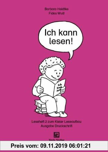Gebr. - Leseheft 2. Ich kann lesen!: Ausgabe: Druckschrift
