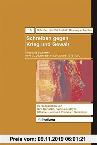 Gebr. - Schreiben gegen Krieg und Gewalt (Krieg und Literatur /War and Literature)