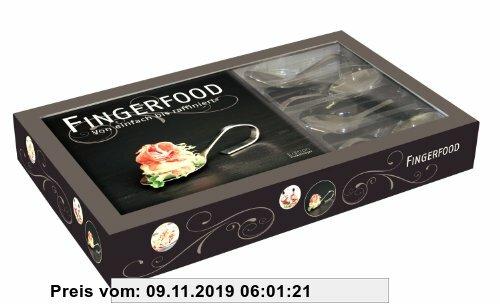 Gebr. - Gourmetset Fingerfood: Von einfach bis raffiniert Handbuch mit Degustationslöffel
