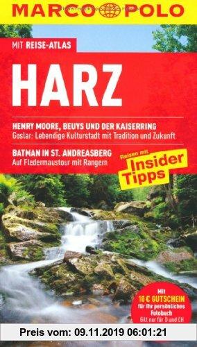 Gebr. - MARCO POLO Reiseführer Harz: Reisen mit Insider-Tipps. Mit Reiseatlas