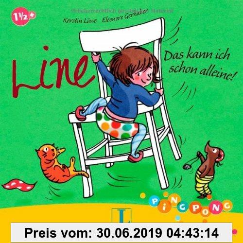 Gebr. - Line - Das kann ich schon alleine!  - Pappbilderbuch: PiNGPONG