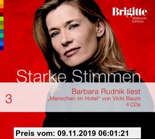 Gebr. - Menschen im Hotel. Starke Stimmen. Brigitte Hörbuch-Edition 2,  4 CDs