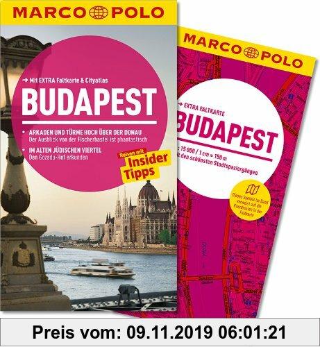 Gebr. - MARCO POLO Reiseführer Budapest: Arkaden und Türme hoch über der Donau: Der Ausblick von der Fischerbastei ist phantastisch. Im alten jüdische