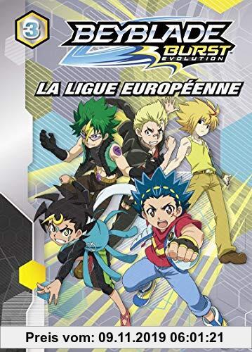 Gebr. - Beyblade Burst Evolution, Tome 3 : La ligue européenne