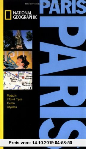 Gebr. - NATIONAL GEOGRAPHIC Spirallo Reiseführer Paris: Magazin. Infos und Tipps. Touren. Reiseatlas