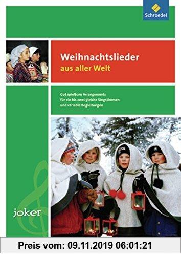 Gebr. - Joker - Ausgabe 2010: Joker: Weihnachtslieder aus aller Welt: Notenheft