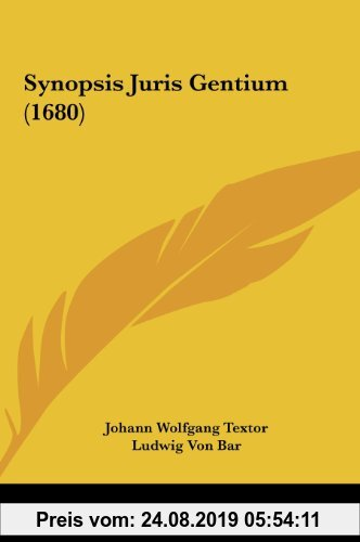 Gebr. - Synopsis Juris Gentium (1680)