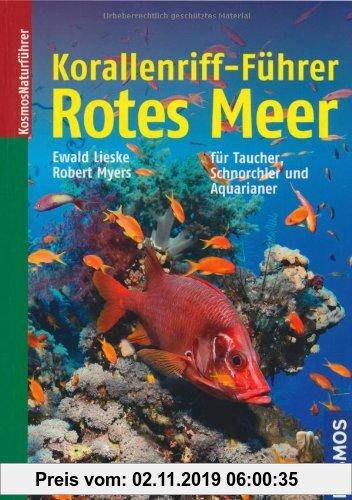 Gebr. - Korallenriff-Führer Rotes Meer: Ein Bestimmungsbuch für Taucher, Schnorchler und Aquarianer