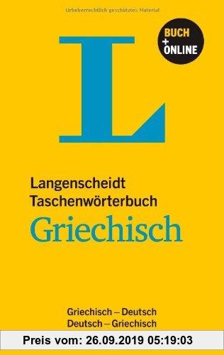 Gebr. - Langenscheidt Taschenwörterbuch Griechisch - Buch mit Online-Anbindung: Griechisch-Deutsch/Deutsch-Griechisch (Langenscheidt Taschenwörterbüch