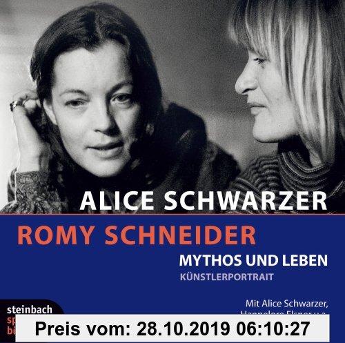 Gebr. - Romy Schneider - Mythos und Leben. Künstlerportrait. 3 CDs