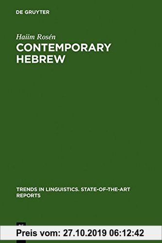 Gebr. - Contemporary Hebrew (Trends in Linguistics. State-of-the-Art Reports, Band 11)