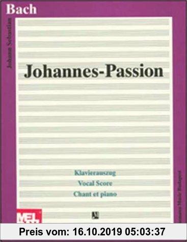 Gebr. - Johannes-Passion, Klavierauszug