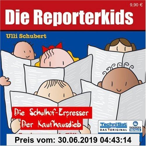 Gebr. - Die Reporterkids - Zwei spannende Fälle: Der Schulhof-Erpresser /Der Kaufhausdieb