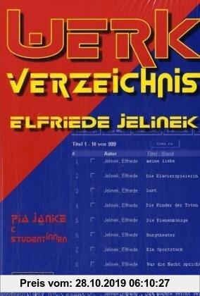 Gebr. - Werkverzeichnis Elfriede Jelinek