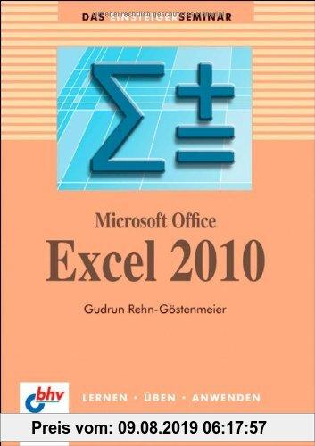 Gebr. - Microsoft Office Excel 2010 (bhv Einsteigerseminar)