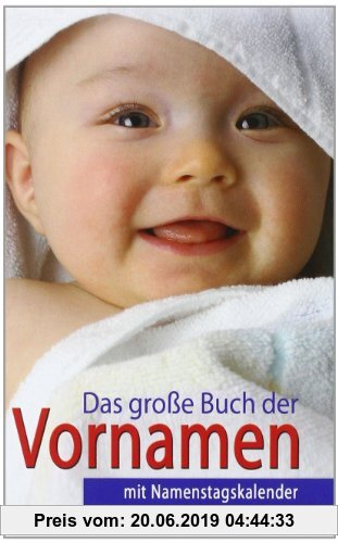 Gebr. - Das große Buch der Vornamen: mit Namenstagskalender