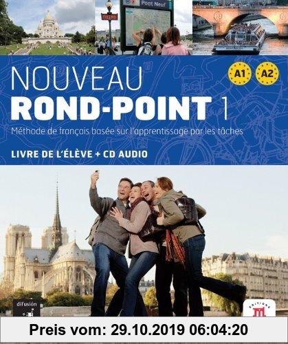 Gebr. - Nouveau Rond-Point / Livre de l'élève + CD audio (A1-A2)
