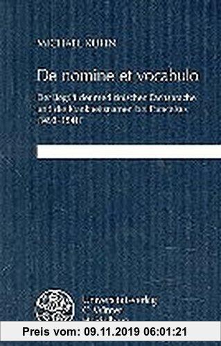 Gebr. - De nomine et vocabulo: Der Begriff der medizinischen Fachsprache und die Krankheitsnamen bei Paracelsus (1493-1541) (Germanische Bibliothek)