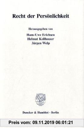 Gebr. - Recht der Persönlichkeit. (Münsterische Beiträge zur Rechtswissenschaft)
