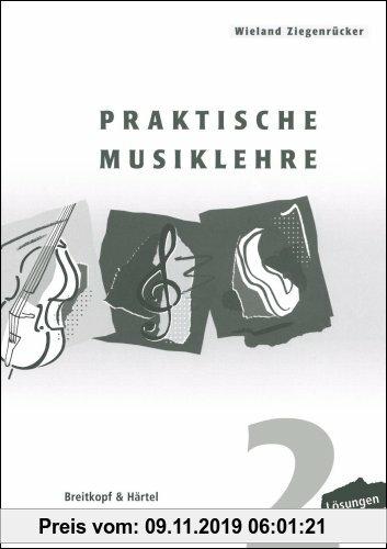 Gebr. - Praktische Musiklehre Lösungsheft zu Heft 2 (BV 392 ): Lösungen